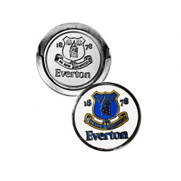 Everton Golf Hat Clip & Golf Ball Marker